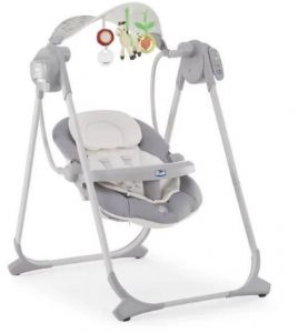 Balancelle Chicco Polly Swing Up Silver